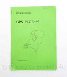 Handleiding GPS PLGR+96 - Editie 1997 - 29,5 x 21 cm - origineel