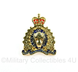RCMP Royal Canadian Mounted Police speld - 1,5 x 2 cm - origineel