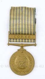 """Belgische """"United Nations"""" """"Coree"""" bronzen medaille - Origineel"""