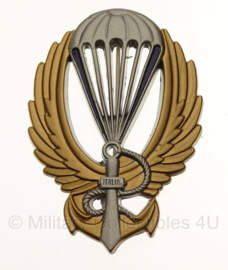 WW2 Italian  NUOTATORE PARACADUTISTA Badge in geschenk- of displaydoosje