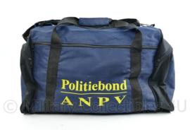 Nederlandse politie sporttas  van de politiebond ANPV - 30 x 58 x 28 cm - origineel