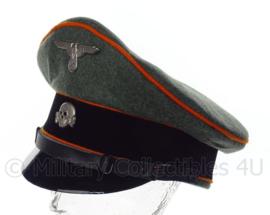 Waffen SS Manschappen schirmmütze grof wol - polizei Feldgendarmerie - maat 57 tm. 60 cm.