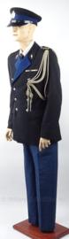 KMAR Marechaussee DT uniform - rang Kapitein - SET jasje, broek en pet - met nestel/koord en medaillebalk - maat 51- origineel