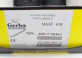 Gerba veiligheidsschoenen type B model 5  -  maat 43B  -  origineel