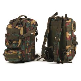 Belgische camo Assault pack Day Pack