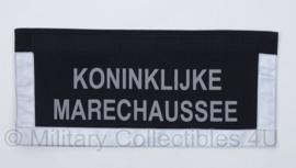 KMAR Marechaussee rugstrook voor parka - origineel