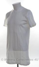 KL Nederlandse leger elastisch katoenen hemd wit korte mouw - nieuw in verpakking - maat 8090/8595 of 8595 / 9505- origineel