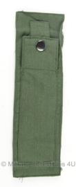 KLU Luchtmacht vliegerbroek beenzak met drukknopen - groen - origineel