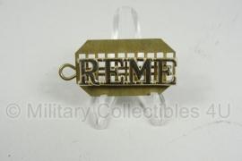 R.E.M.E. REME BRITSE KRAAGSPIEGEL SPELD / ORIGINEEL
