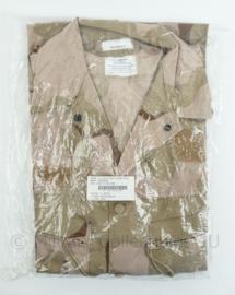 KL desert uniform jas - jas basis - maten 6080/9095 of 8000/9095- NIEUW in verpakking- origineel