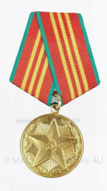 "Russische medaille ""For Meritorious Service"" - 10 jarige dienst - origineel"