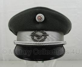 Oostenrijkse leger platte pet - officier - maat 56 origineel