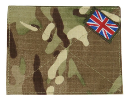 Britse PAAR leger MTP camo klittenband afdekking MTP blanking panel with Union Flag 13 x 10 cm - origineel