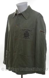 Korps Mariniers Dungaree Tropen jas - maat Small - origineel