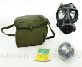 Zeldzame S6 Korps Mariniers gasmasker set jaren 70 - 24 x 30 x 14 cm - origineel