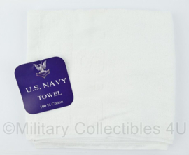 Leger handdoek US NAVY USN - WIT  - 100 x 50cm.