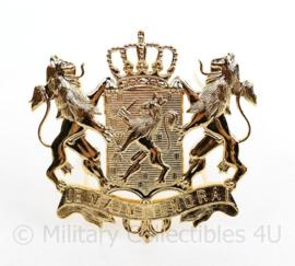 Nederlandse ambtenaar pet insigne Je Maintiendrai - 8 x 8 cm - origineel