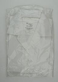 Nederlands leger dames GLT wit overhemd KORTE mouw - nieuw in verpakking -maat 42 - origineel