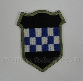 WWII US 99th Infantry Division patch - eigen aanmaak