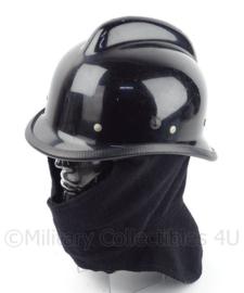 Duitse  Brandweer helm - zwart - origineel