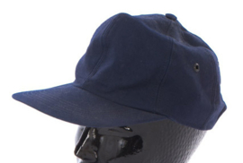 Bundesmarine  blauwe Marine pet - maat 56 tm. 64  - origineel