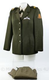 KL dames DT uniform set met broekrok - model tot 2000 met parawing - Rang Korporaal -  maat  40 - origineel