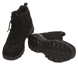 Squad boots halfhoog zwart