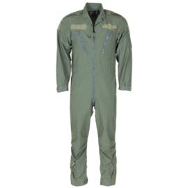 Britse leger piloten overall groen - gedragen - meerdere maten - origineel