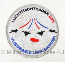 Vliegbasis Leeuwarden luchtmacht dagen 2011 embleem - origineel