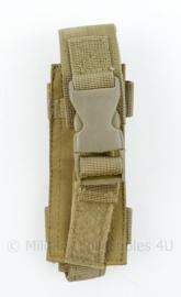 Originele Defensie Korps Mariniers en US Army coyote MOLLE pouch Single Magazin Pistol - 16 x 5,5 x 3 cm - nieuw - origineel