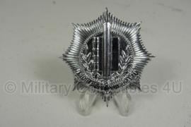 Gemeentepolitie pet insigne - metaal - diameter 3,5 cm - origineel