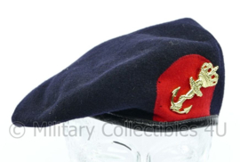 Korps Mariniers baret met insigne 2003 - maat 58 - Beatex - origineel