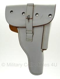 Walther P1 holster P38 holster Bundeswehr - WIT leer - MODEL ZONDER HAKEN - origineel
