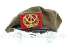KL Baret  regiment Menno van Coehoorn Maat 56  - Origineel