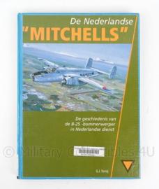 """Naslagwerk """"de Nederlandse Mitchells"""" de geschiedenis van de B-25 bommenwerper in nederlandse dienst - origineel"""