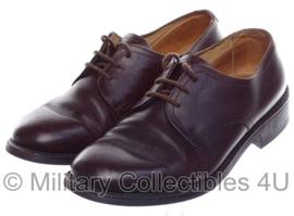 KL DT nette schoenen Van Lier BRUIN leer - maat 9,5 = maat 44B = 280B - origineel