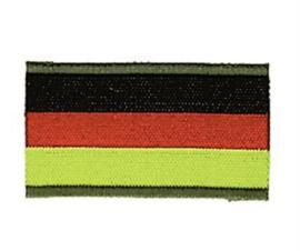 Uniform landsvlag Duitsland - per 2 stuks  - stof - 4,6 x 2,6 cm. - origineel