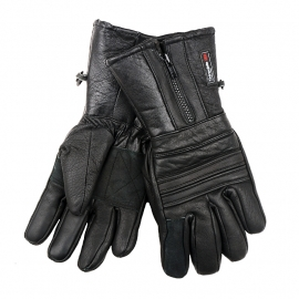 Motorhandschoen - 100% echt leer!  met Thinsulate voering - waterproof - maat Small, medium, XXL