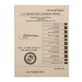 USMC technical manual RIFLE M16 A2 10/1983