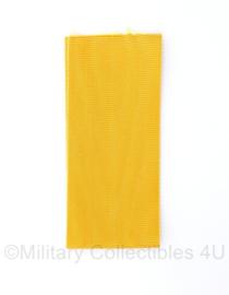 Defensie medaille lint voor medaille Trouwe dienst  - 9 cm -  geel - origineel