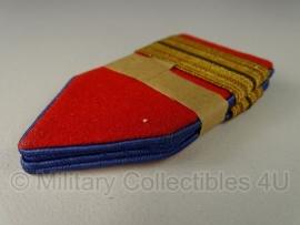 Nederlands leger kraagspiegel set - oud model - origineel