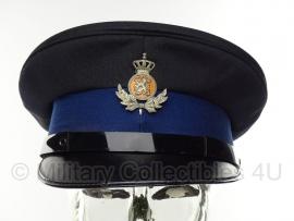 KMAR Marechaussee onderofficier platte pet - maat 55 1981 - origineel