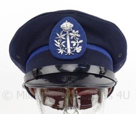 Belgische Gemeente politie pet - maker: v/d Linden - maat 54 - origineel