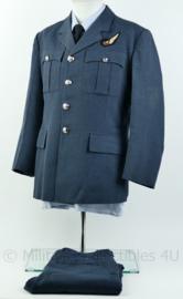 Britse Royal Air Force RAF loadmaster uniform jas en broek blauw - maat Large / broek 34 inch waist - origineel