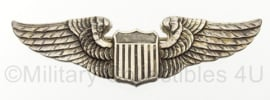 WO2 US USAAF pilotwing - sterling zilver - luxenberg new york - origineel