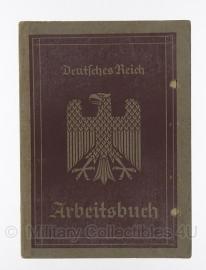 Arbeitsbuch 2 mei 1936 - origineel Wo2 Duits