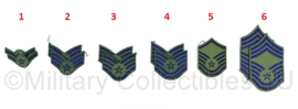 USAF Air Force ranks rangen - per paar - origineel