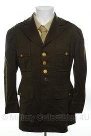 US Officer Class A jas - size 42 S = 52 kort - origineel WO2