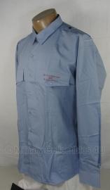 Overhemd lichtblauw lange mouw - meerdere maten - Britse Essex county Fire & Resque Service - origineel