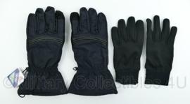 KL en Korps Mariniers winter gloves vochtregulerende handschoenen BLACK met binnenhandschoen- met Hipora voering- maat M tm. XL - in verpakking!  - origineel